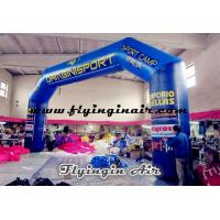 Buy cheap 14m Giant Blue Inflatable Arch for Outdoor Advertisement and Events from wholesalers