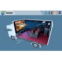 Buy cheap Truck Mobile 5D Movie Theater , Mini 5d Project For Motion Chair Cinema product