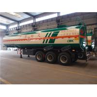 Buy cheap 41 CBM tri axle oil fuel semi trailer tanker for sale with heavy capacity from wholesalers