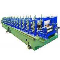Buy cheap Steel Profile Roll Forming Machine Small Power Loss 55KW Main Power from wholesalers