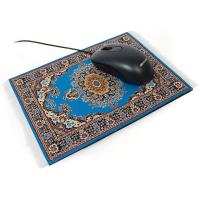 Buy cheap 220x170mm Carpet fabric + Natural Rubber + Ribs rug optical mouse pad  custom mousepad printing from wholesalers