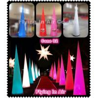 C-04 Oxford Inflatable Light Cone With LED Light For Party Supplies