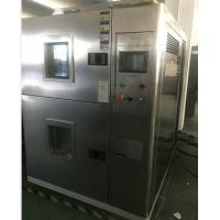 Buy cheap 2- Zone Thermal Shock Test Chamber , Climatic Testing Systems Drawing Type Touch Screen from wholesalers