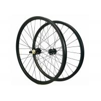 Carbon Clincher Wheelset For Mountain Bike , Toray 700 Mtb 29er Carbon Wheelset