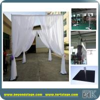 Buy cheap 6'-10' Pipe and Drapes with Aluminum Pipe Stand and Fabric Curtain Stand for Wedding Hire Use Unique Decoration from wholesalers