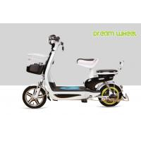 Buy cheap 25 mph Pedal Assist Electric Bike Drum Brake 48V 250W Safety Small Lovely Scooter from wholesalers