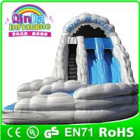 Buy cheap QinDa Inflatable toy 2015 New Aqua Park, swing pool water slide playground from wholesalers
