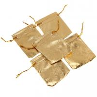 Buy cheap Wholesale Beautiful cloth bag, custom gold&silver jewelry pouches, nice gift bag from wholesalers
