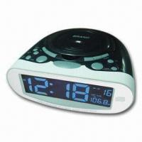 Buy cheap CD Player with 2-band Radio and Digital Clock, Supports Repeat and Random Functions product