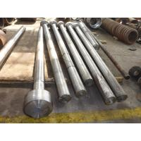 Buy cheap AISI 4140(,42CrMo4,SCM440,EN19,1.7225)Forged Forging Steel construction mining machine hydraulic cylinders Piston Rods from wholesalers