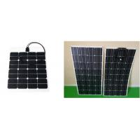 China Light Weight 100W Residential Solar Panels Convenient Installation Water Proofing on sale