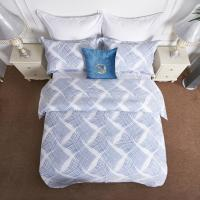 Buy cheap Modernization Hotel Bedding Sets 100% Cotton Printed Bed Linen Quilt Cover from wholesalers