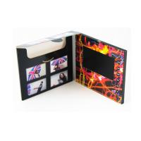 Buy cheap 5 inch LCD video mailer with inside pocket for brochure, LCD video card media kits from wholesalers