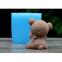 Buy cheap Bear Shaped Food Safe Silicone Dcoration Molds For Wedding Cake ,Rubber Silicone Mold from Wholesalers