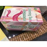 Buy cheap 2018 hot sale black herbal slimming tea with tea bags from wholesalers