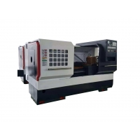 Buy cheap Diameter Of Spindle Through Hole 82mm Spindle Taper MT6 JK-H-0660 CNC Lathe Machine from wholesalers