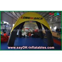 Buy cheap Logo Printed 4 Legs Inflatable Air Tent Spider Dome Tent With PVC Material from wholesalers