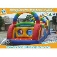 Buy cheap Jumping Obstacle Course For Kids , Bouncy Obstacle Course Jumper Rental from wholesalers