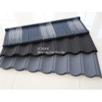 Buy cheap Colorful Stone Chip Coated Metal Roof Tiles / Galvalume Steel Roof Tile Sheets from wholesalers
