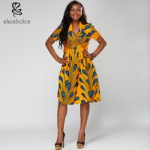 Buy cheap 100% cotton  African print suit  Ankara batik wax  sleeveless wholesale ladies'  boutique from wholesalers