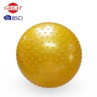 Buy cheap 65CM PVC Yoga Massage Ball , Ecofriendly Yoga Stability Ball For Exercise from wholesalers