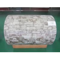 Buy cheap Stone Grain Pattern Prepainted Galvalume Steel Coil with GI GL SS AL Base Metal from wholesalers