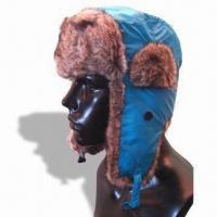 Buy cheap Mountain Hard Wear Hot Ear Cap, Made of 100% Polyester and Fake Fur, Customized Colors are Accepted from wholesalers