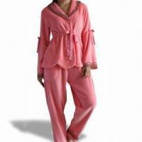 Buy cheap Women's Pajama, Customized Colors are Welcome, Comes in Unisex Style from wholesalers
