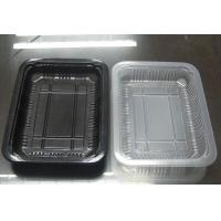 China Disposable Plastic PP Food Trays Suitable For Sealing Film Cover 23 Grams Weight on sale