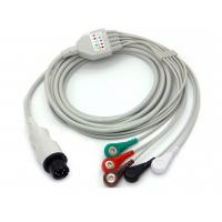 Buy cheap Siemens ECG Electrode Cable , 5 Leads Wire Patient Cable For Ecg Machine from wholesalers