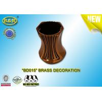 Buy cheap Brass Decoration Bronze Vase Material Copper Alloy 10cm Ref.BD015 Cemetery Decorations from wholesalers
