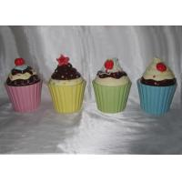 Buy cheap Hand Painted Sweet Cupcake Trinket Box / Covered Box Ceramic Dolomite Stoneware from wholesalers