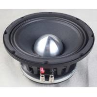 Black Neodymium Car Speakers 8 Inch Car Subwoofer Paper Cone With Cloth Edge