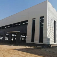 Buy cheap Prefab Gable Frame Industrial Durable Steel Structure Warehouse from wholesalers