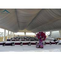 Buy cheap Arabic Large Wedding Tents  For Outdoor Party  Roof Linings And Curtains from wholesalers