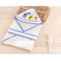 Buy cheap 100% Cotton Cozy Custom Baby Hooded Towels For Bath , Animals Pattern from wholesalers