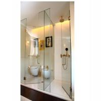 Buy cheap 10mm 12mm clear safety tempered glass shower screen unite price in China from wholesalers