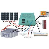 Buy cheap Off - Grid Solar Electric System / House Solar System With 48v Batteries 20A Inverter from wholesalers