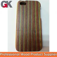 Buy cheap Color Wood Phone Case for apple iphone 5/5S from wholesalers