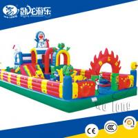 Buy cheap big hot sale inflatable jumping castle for sale from wholesalers