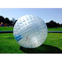 Buy cheap Transparent 1.0mm TPU  Inflatable Zorb Ball Inflatable Human Hamster Ball 3.0m x 2.0m Dia from wholesalers