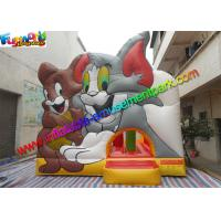 Buy cheap Amazing Tom And Jerry Commercial Bouncy Castles Inflatable Jumping House Water - Proof from wholesalers