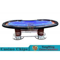 Buy cheap Pea - Type Table Design Custom Casino Craps TableFor Poker Casino Games from wholesalers