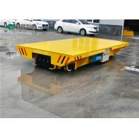 Buy cheap shop handling 25t electric power rail flat car manufacturing factory from wholesalers