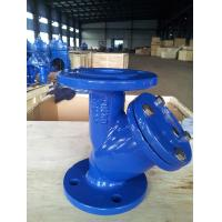 Buy cheap DIN3202 Cast Iron Flanged Y Strainer SS304 SS316 Screen Unique Design from wholesalers
