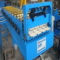Buy cheap 850 Roof Panel Roll Forming Machine With Hydraulic Control System For Sporting Goods from wholesalers