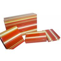 Buy cheap Shining Laminated Keepsake Gift Boxes 30cm x 28cm x 8cm With 1200gsm from wholesalers