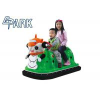 Buy cheap Indoor amusement Kids Bumper Car Battery Operated with Led Lights from wholesalers