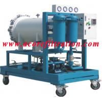 Buy cheap Coalescence-separation type Diesel Fuel Oil Filtration Machine from wholesalers