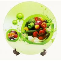 China Disposable Multi Coloured Chopping Boards / FDA Tempered Glass Cutting Board on sale
